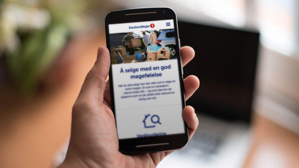 Mobilbilde av selge bolig på eiendomsmegler 1